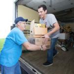 unload truck